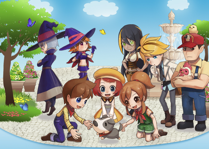 Harvest Moon: Seeds of Memories sur iOS